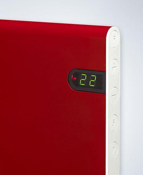 Adax Neo rood design verwarming