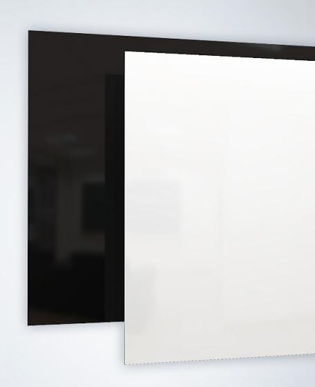 Ecosun infrarood design glaspanelen