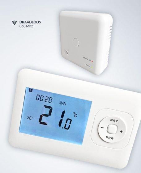 Draadloos systeem infrarood verwarming
