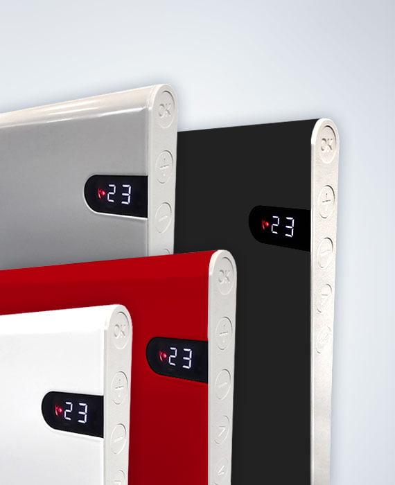 Adax Neo Basic 1000 watt 20 cm Zilver