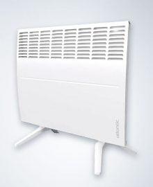 Atlantic F129 radiator met vloersteun Atlantic elektrische kachel