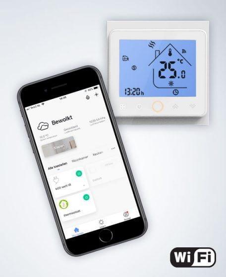 Infrarood WiFi thermostaat afstandsbediening App bediening