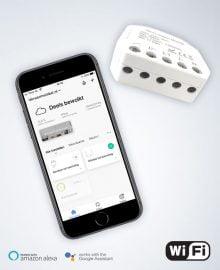 Wifi schakelaar met je app op mobiel bedienen