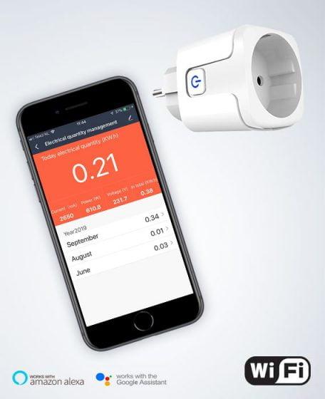 Wifi plugin schakelaar voor infrarood verwarming