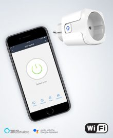 WiFi stekker voo rinfrarood verwarming met app bediening