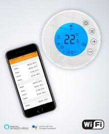 wifi thermostaat app smartphone infrarood