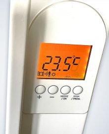 verwarming met aanwezigingssensor